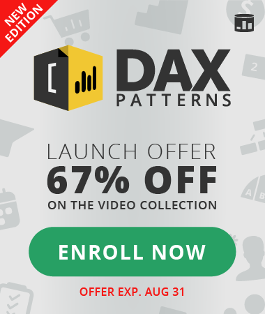 DAX Patterns video collection